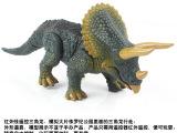 乐禹正品整蛊创意遥控仿真三角龙宠物动物模型高仿真益智儿童玩具