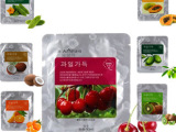 韩国面膜正品特价批发护肤化妆品包邮水果樱桃嫩白保湿睡眠面膜贴