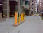南京白下停车场升降柱查询机通道闸安装调试