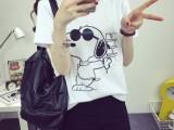 5元热销夏季女式短袖t恤韩版新款圆领时尚打底衫地摊货源批发