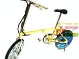 1873【易来】工艺品打火机模型折叠自行车打火机
