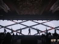 深圳灯光舞台音响搭建 电脑光束 LED高清大屏 演绎节目预定