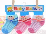 3双一卡 0-6月宝宝袜 儿童袜子 婴儿袜子 卡通图案袜子 最可