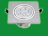 LED方形天花灯3W 5W 7W  车铝LED格栅射灯 单头LE