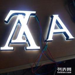 北京LED三维迷你发光字