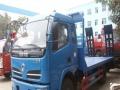 小型挖掘机平板拖车供应