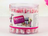新款7克桃心形小瓶子压片心形糖果 创意糖