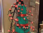 承接室内美陈,圣诞,春节氛围包装