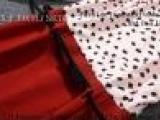 燕南飞 欧美明星同款女装秋装豹纹波点系带长袖包臀修身连衣裙