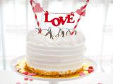 烘焙包装 纸杯蛋糕装饰插牌 Happy birthday蛋糕装饰