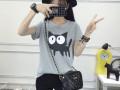厂家供应四季便宜服装批发保证质量广东最低价百搭女装T恤衫批发
