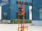 聲測管疏通設備 油電兩用小型鉆機 便攜式小型打井機
