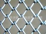 钩编镀锌勾花网 绿化菱形勾花网 包塑勾花网专业生产