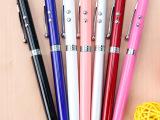 多功能电子激光教鞭笔 LED灯电容笔