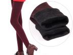 2014新款 韩版冬季秋装女外穿高腰加绒保暖显瘦踩脚打底裤潮长裤
