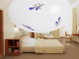 格智照明厂家直销LED吸顶灯紫百合 卧室天花客厅餐厅 12W