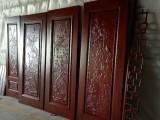 新中式木屏风 样式设计与雕刻 屏风270-350元-可定做