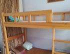 自家双层儿童床~松木的,95成新