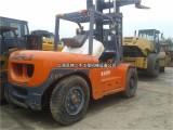 温州二手8吨叉车,二手夹废纸叉车