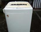 出一台成色比较新海尔牌全自动洗衣机,好用。
