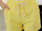 2014爆款夏季韩版纯棉糖果色宽松打底休闲短裤 热裤女裤 色