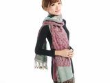 厂家供应仿羊绒爆款提花围巾 孔雀开屏围巾 量大优惠 质量保证