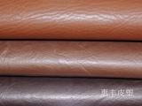 义乌pvc水草纹皮革 人造抛光革 箱包软包皮料等厂家直供批发