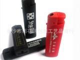 供应实色橡皮广告打火机、礼品打火机加印LOGO、橡皮漆打火机