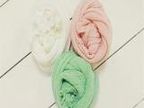女童围巾毛线小清新儿童纯棉围脖一件代发韩国原单配饰货源冬
