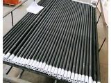 郑州硅碳棒密度大发热量高,高温炉碳化硅管寿命长