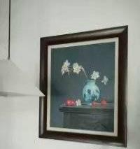 静安区陕西北路装饰画版画国画油画相框挂画结婚照安装