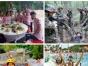 乡村农家生态乐园打糍粑磨豆浆有机美食体验一日游