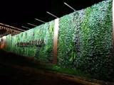 海口楼盘仿真植物墙 仿真绿植墙 立体花艺 垂直绿化