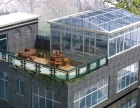 专业承接铝包钢特色带无框窗阳光房业务