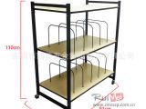 移动枕头展示架 组合展示架 木板挂钩展示挂架 各种货架定制开发