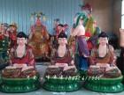 树脂神像厂家批发 三宝佛像古 贴金彩绘 药师佛 释迦摩尼佛