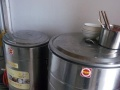 两口高汤锅(一大60口径,一小45口径的)