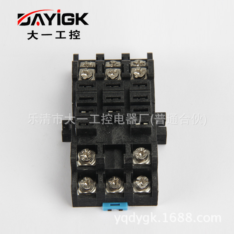继电器底座38f 继电器插座 生产直销 大一工控 专业生产 规格齐全