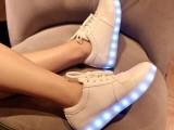 厂家直销七彩发光鞋夜光鞋USB充电LED灯光鞋女运动鞋