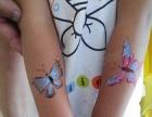 天津人体彩绘 海娜彩绘 脸部手部彩绘 活动彩绘