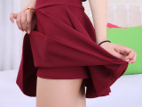 2014新款韩版短裙 春夏蓬蓬裙防走光高腰半身裙春秋百褶太阳裙
