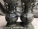 河南杭龙青铜器 曾侯乙联禁铜壶 铸铜雕塑制作 工艺礼品定制