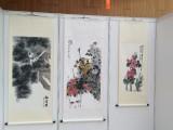 上海市掛畫架租賃 學生畫展布置搭建 書畫展板出租