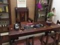云浮船木家具厂老船木茶台批发船木茶桌椅组合