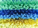 长期供应塑料刷丝、塑料丝、波纹丝、弹力丝、十字丝、异型丝