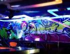 酒吧夜店 荧光涂鸦 夜光涂鸦 彩绘墙 北京街头涂鸦