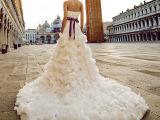 2015新款威尼斯奢华婚纱礼服抹胸鱼尾拖尾高雅新娘韩版S2143