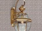户外壁灯 欧式全铜壁灯 防水卫生间 壁灯 铜灯 阳台过道灯 美式壁