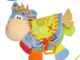 外贸正品playgro立体布书*婴儿早教玩具*BB器响纸牙胶无b