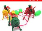 气压小玩具 气压马 气压狮子 小游戏玩具 儿童玩具